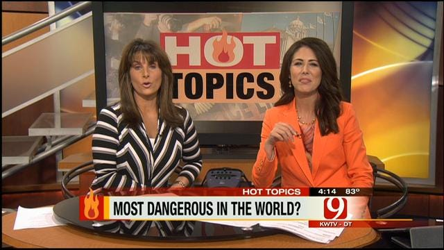 Hot Topics: Oklahoma One Of Most Dangerous Places To Live?