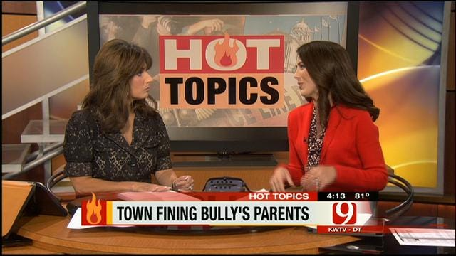 Hot Topics: Parents Fined For Children Who Bully Other Kids