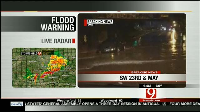 News 9 Tracks Road Conditions Following Heavy Rain