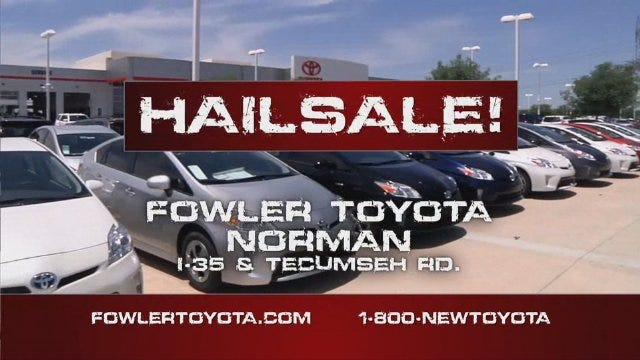 Fowler Toyota: Hail Sale