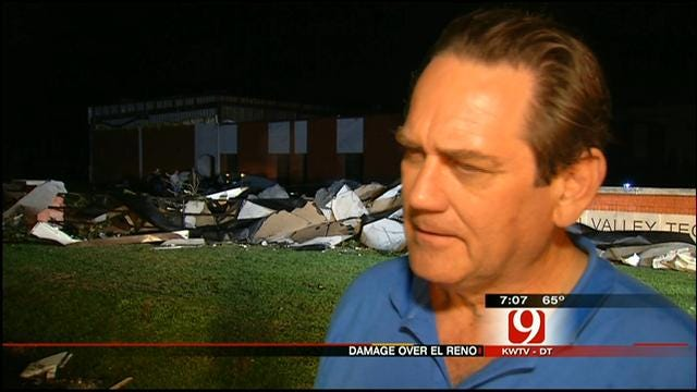 El Reno Technology Center Damaged As Tornado Hit; No One Injured