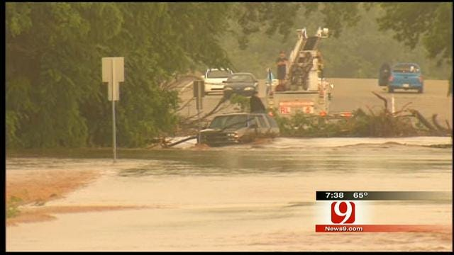 Man Rescued After Being Trapped In Flood For 7 Hours