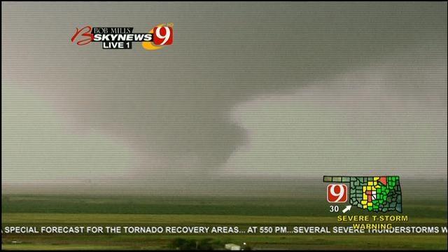 Multiple Tornadoes Touch Down Near OKC Metro