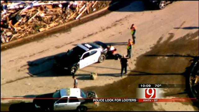 Five Looters Arrested In Moore Since Tornado Struck