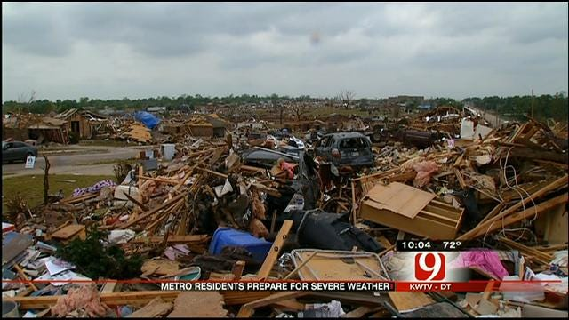 Oklahomans On Edge After Recent Spate Of Severe Weather