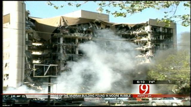 Granite Block From Murrah Building Turns Up In Moore Debris