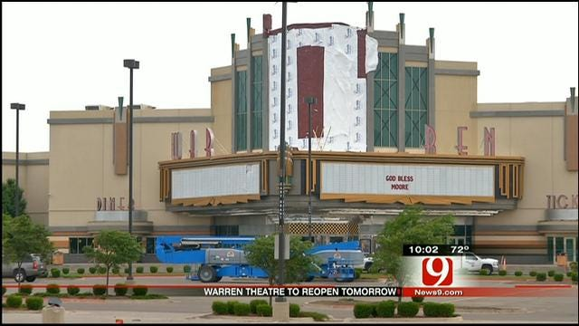 Moore Warren Theatre Damaged By Tornado To Re-Open Wednesday