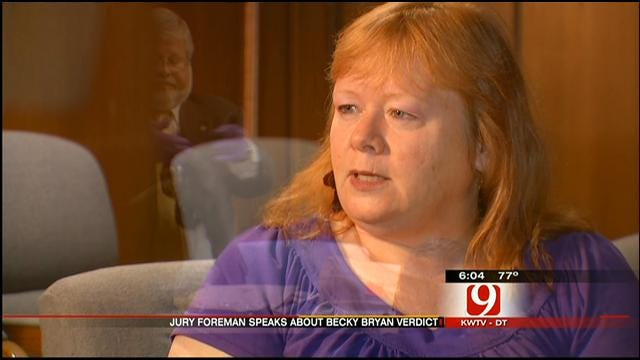 Juror Speaks Out About Becky Bryan's Murder Trial