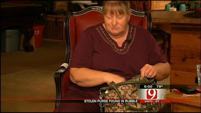 Choctaw Woman's Stolen Purse Found In Tornado Debris 4 Years Later