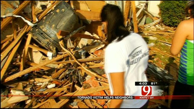 Moore Residents Helping Neighbors Affected By Tornado
