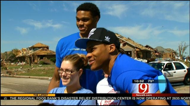 Westbrook Talks About His Efforts To Assist In Tornado Relief