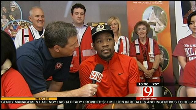 Kevin Durant's Generosity Provides A Spark Of Hope