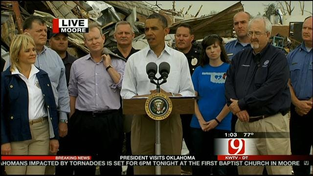 President Obama Speaks About Moore Tornado Relief Effort
