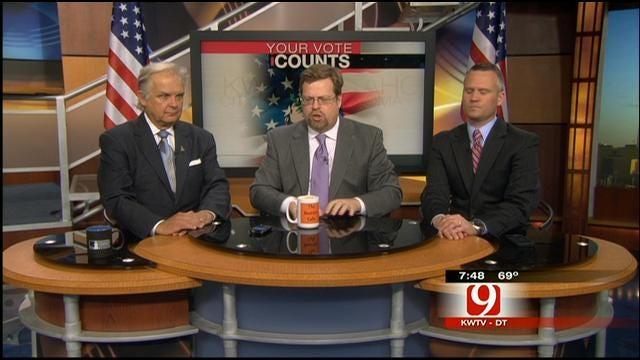 Your Vote Counts: Oklahoma Tornado, President's Visit