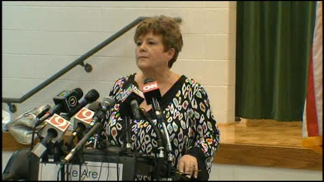 Teachers Share Stories Of Survival At News Conference, Part I