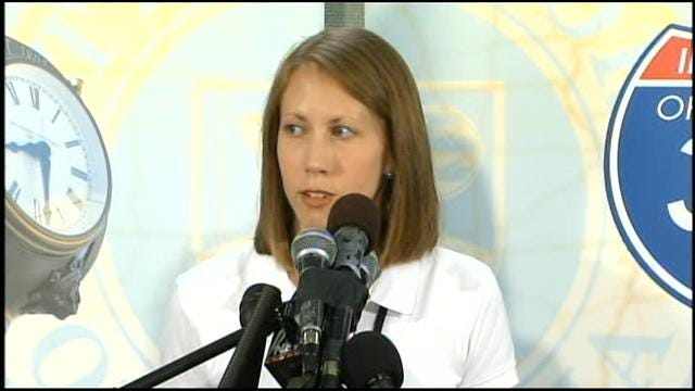 Moore, OKC Officials Host News Conference, Part I