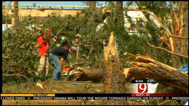Bethel Acres Residents Dealing With Tornado Aftermath
