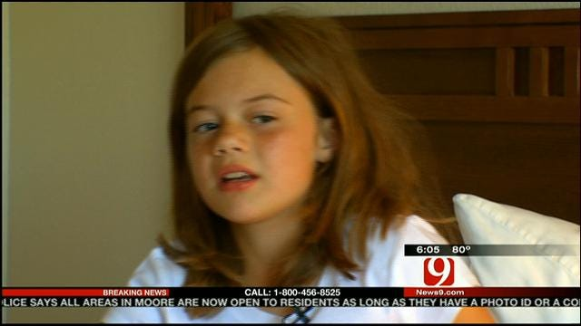 Survivor, 9, From Briarwood Elementary Happy To Go Home
