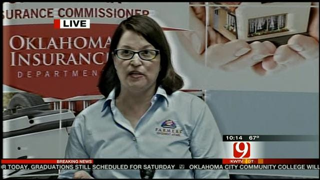 Insurance Command Center Set Up In Moore For Victims