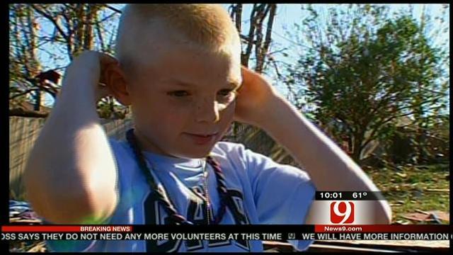 News 9's Steve Shaw Speaks To Several Tornado Survivors