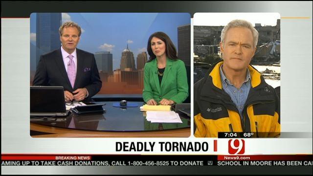 CBS News' Scott Pelley Speaks To News 9 About Moore Tornado