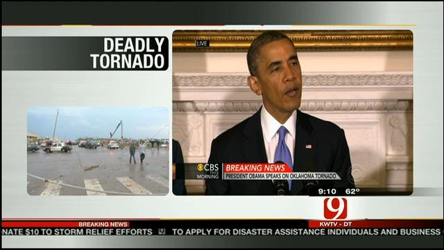 President Obama: Tornado Victims Will Get Everything They Need