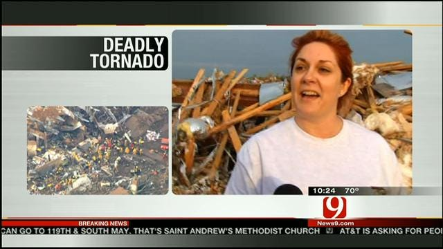 Moore Residents Talk About Surviving Massive Tornado