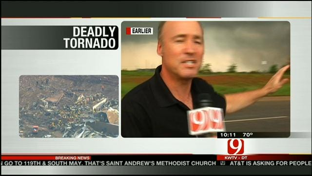 Meteorologist David Payne Talks About Tracking Deadly Moore Tornado