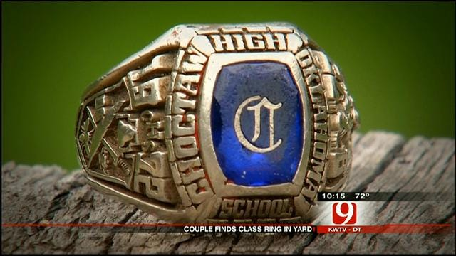 OKC Family Looking To Find Owner Of '72 Choctaw Class Ring