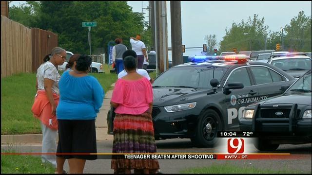 Police: Girl Shot, Gunman Beaten In Street