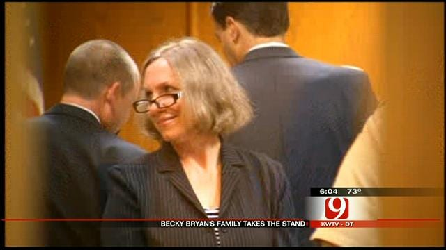 Family, Friends Of Becky Bryan Testify In Murder Trial