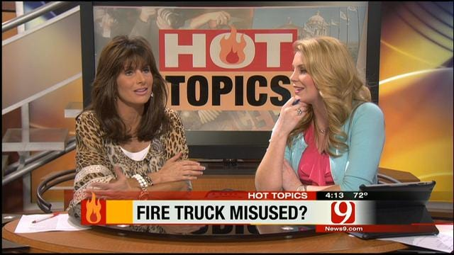 Hot Topics: Teens Take Fire Truck To Prom