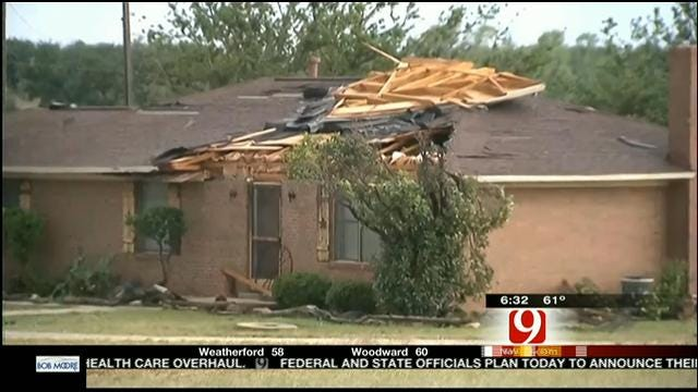 Residents See Aftermath Of Deadly Tornado In Granbury, Texas