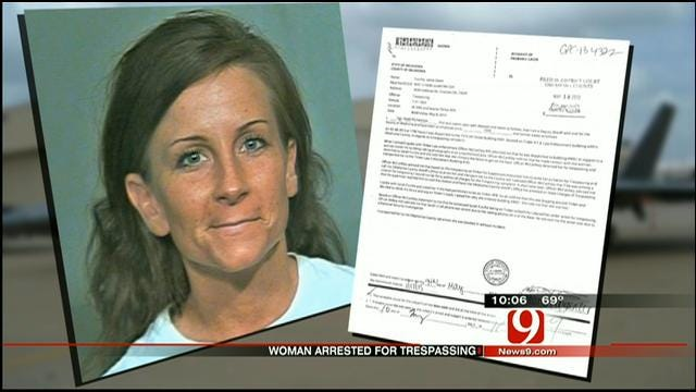 Choctaw Woman Arrested For Trespassing At Tinker AFB