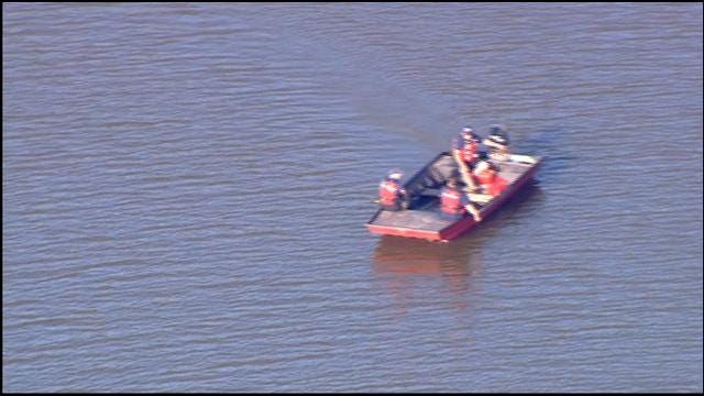 WEB EXTRA: SkyNews 9 Flies Over Search For Drowning Victim