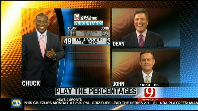 Play The Percentages: May 12