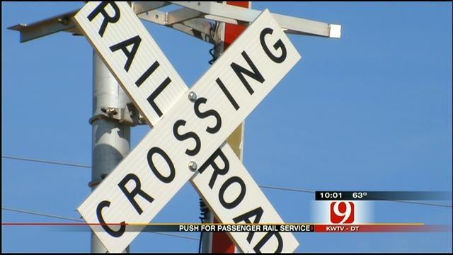 Talk Of Passenger Train Service Between OKC, Kansas Heats Up