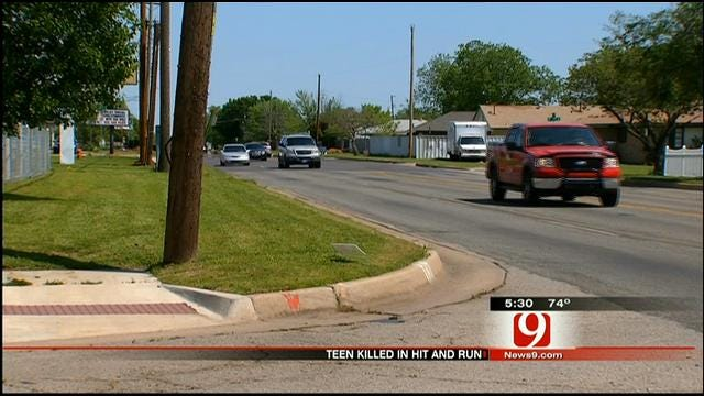 Teenager Killed In Hit-And-Run Crash In SW OKC