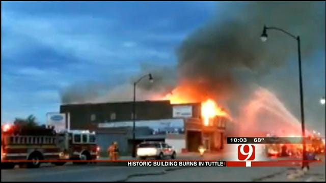 Owners Of Historic Tuttle Building Destroyed In Fire Speak Out