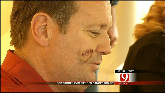 Coach Bob Stoops Has Pre-Cancerous Spot Removed From His Face