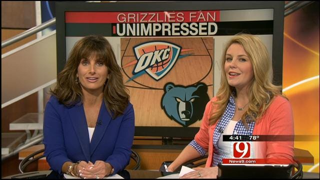 Grizzlies Fan Not Impressed With Chesapeake Energy Arena