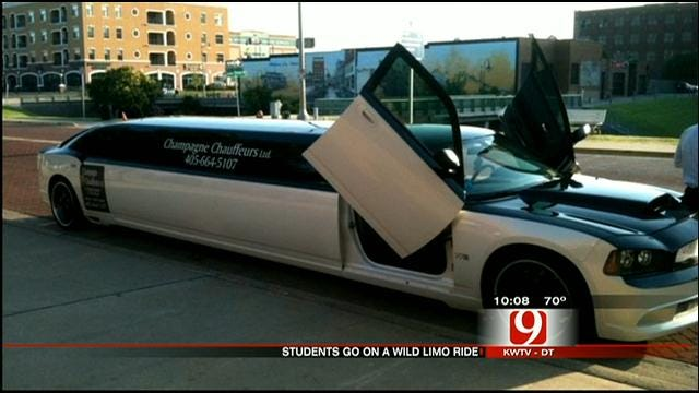 Limo Driver Accused Of Taking Edmond Students On Wild Ride On Prom Night