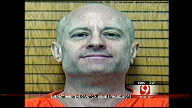 Grady County Man Arrested For Threatening To Kill Judge, Prosecutors