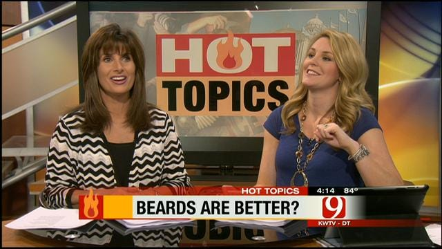 Hot Topics: Women Like Beards