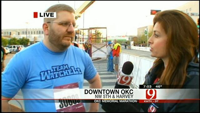 Oklahoma Runner Speaks About Supporting Boston Bombing Victims