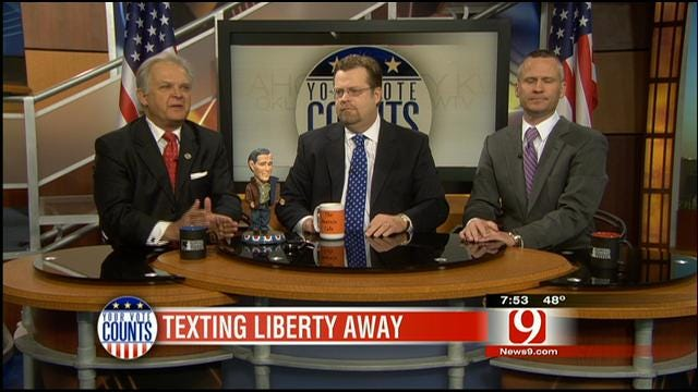 Your Vote Counts: Bush, FAA, 3 Big Agreements, Texting Liberty Away