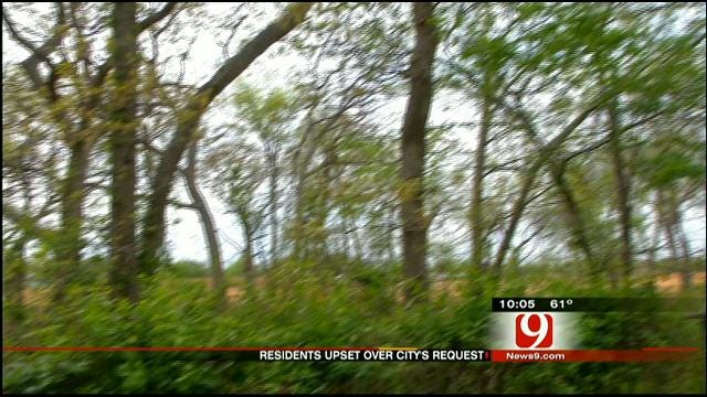 MWC Orders Easement Clean Up, Residents Say No