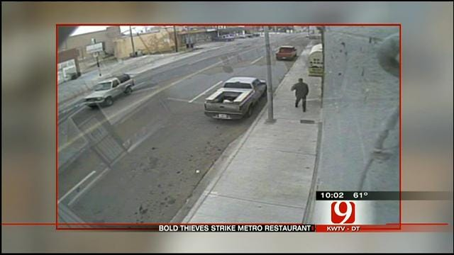 Brazen Thief Steals AC Unit From OKC Restaurant In Broad Daylight