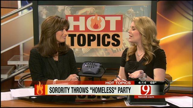 "Hot Topics: Sorority Throws ""Homeless"" Party"