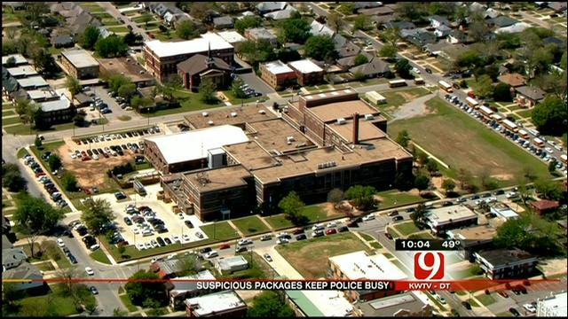 Multiple Calls Of Suspicious Packages Keep OKC Police Busy